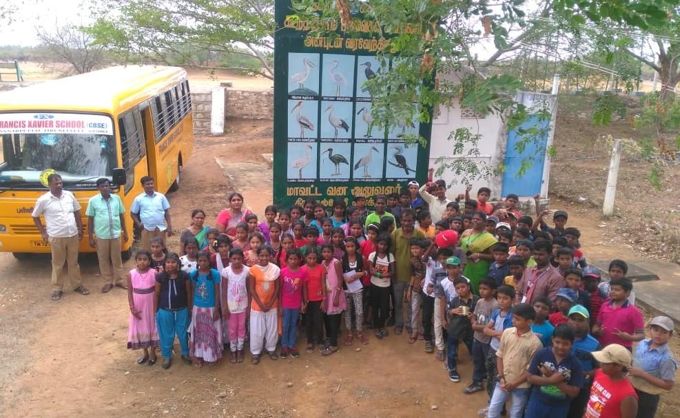 Filed Trip - Kundhankulam – Bird Sanctuary